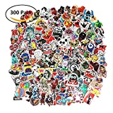 PC Hardware : Future 300 Pcs Laptop Waterproof Stickers Pack Car Stickers Motorcycle Bicycle Luggage Decal Graffiti Patches Skateboard Stickers for Laptop Random Sticker Pack(6 Pack)