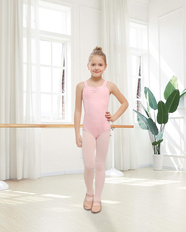 STELLE Ballet Leotards for Girls Dance Toddler//Little Kid//Big Kid Gymnastics and Ballet
