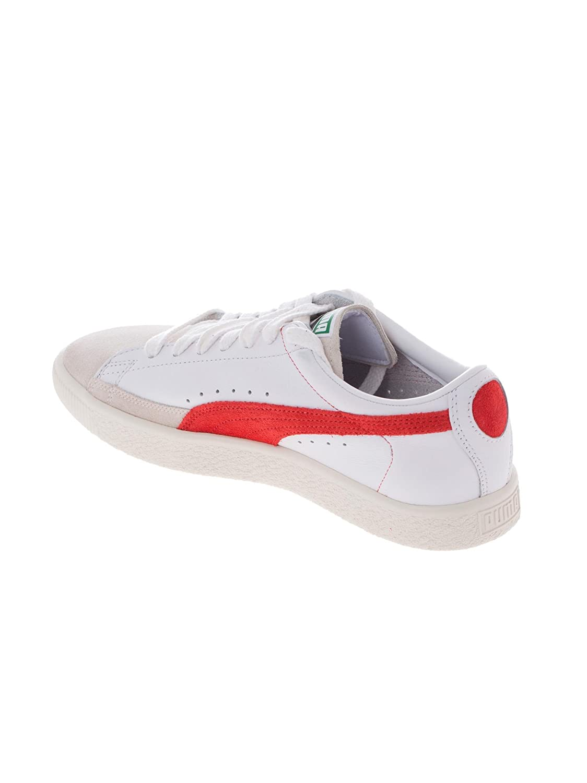 Puma Sneakers 90680 Bianca e Rosso: Amazon.it: Scarpe e borse