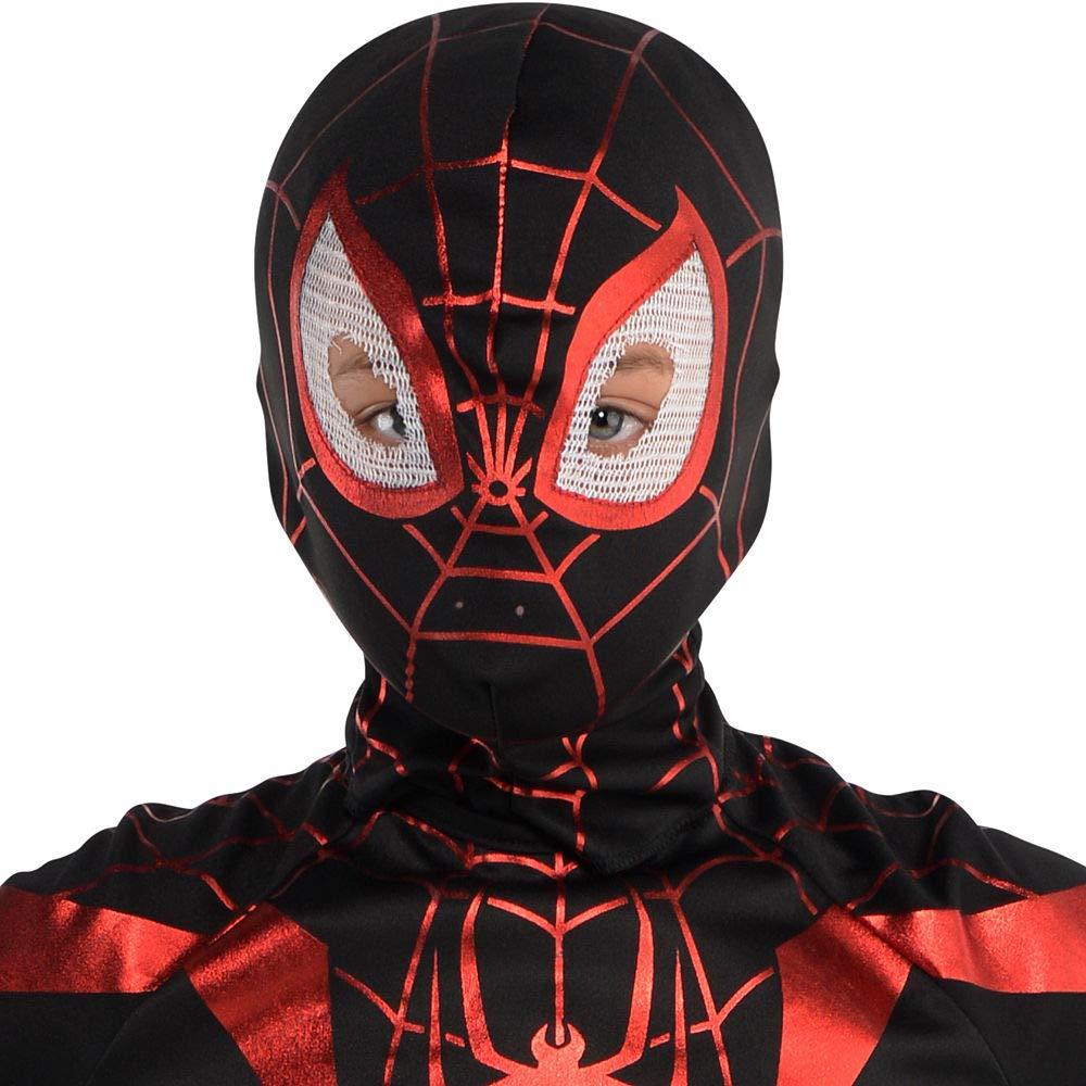 Amazon.com: Disfraz de Spider-Man Miles Morales para niños ...