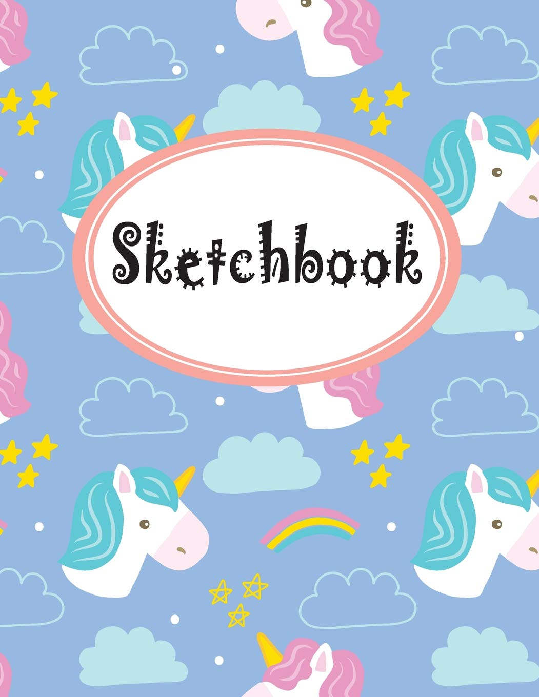 Sketchbook Sketchbook For Girls Cute Unicorn Background Large Blank Sketchbook For Girls For Drawing Sketching Crayon Coloring Kids Drawing Books Volume 12 Unicorn Sketchbook Moore Dorothy 9781797477275 Amazon Com Books