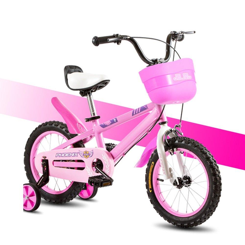 XQ TL 117ピンクの子供の自転車3-13歳の男の子のハイカーボンスチールキッズバイク 子ども用自転車 ( サイズ さいず : Length-96cm ) B07C3KTCFF Length-96cm Length-96cm