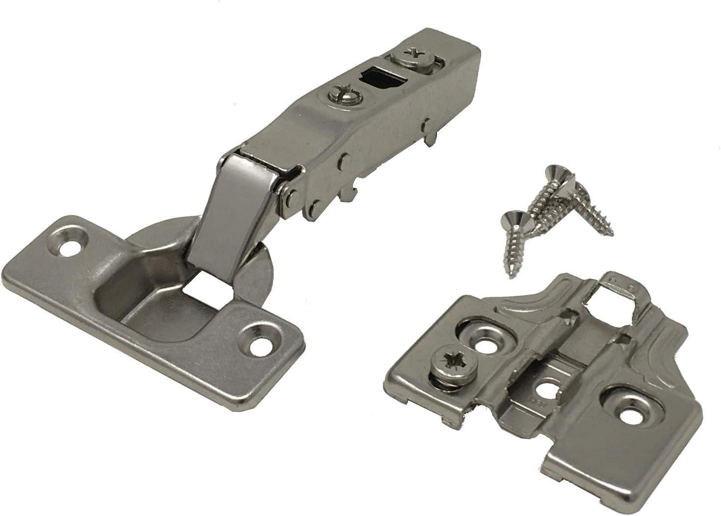 105 Degré soft close Cabinet Charnière de porte dissimulée Euro Full Overlay H-Qualité