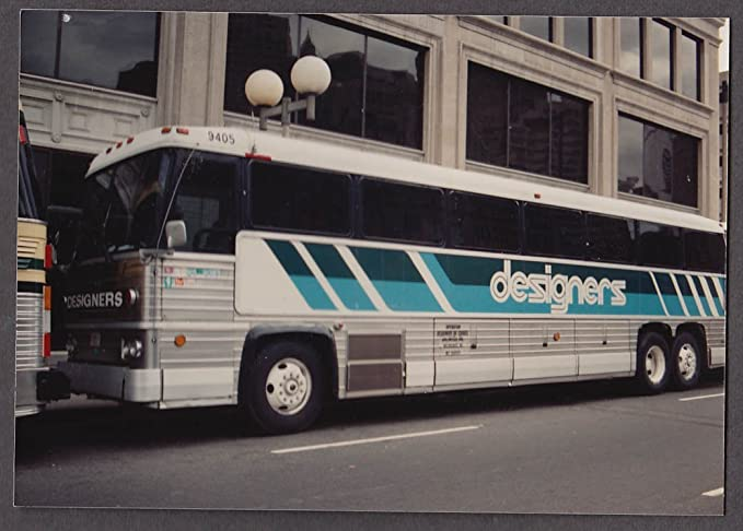 Concord Trailways MCI 781 Bus Snapshot Boston 1988 At