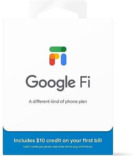 Amazon.com: Kit de tarjeta SIM Google Fi