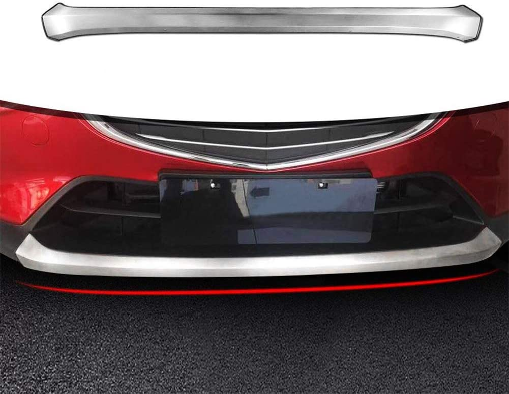 Xinshuo Custom Fit Front Rear Bumper Protector Skid Plate Guard for CX-3 CX3 2015-2019,Stainless Steel,2 pcs//Set