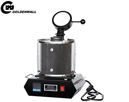 CGOLDENWALL - Horno eléctrico para derretir objetos de oro, plata ...