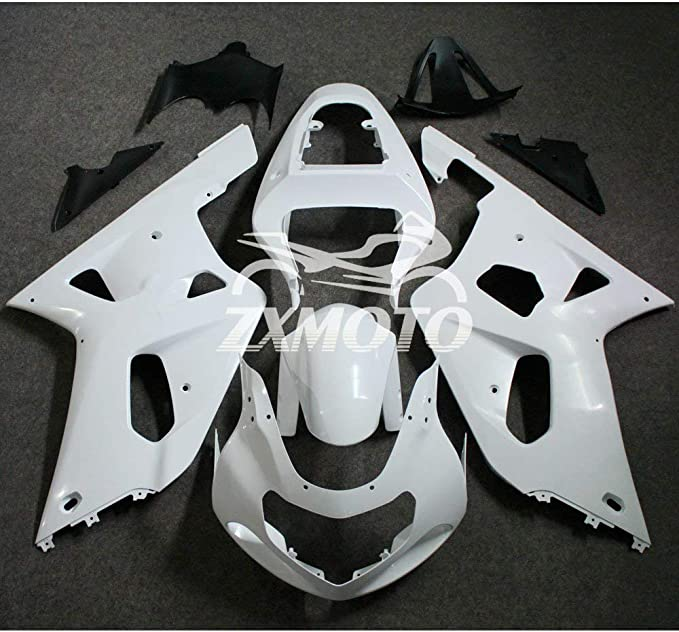 ZXMOTO Unpainted Solo Seat Cowl fairing Motorcycle Rear Seat Cover bodywork for SUZUKI GSX-R 600//750 2008 2009 2010