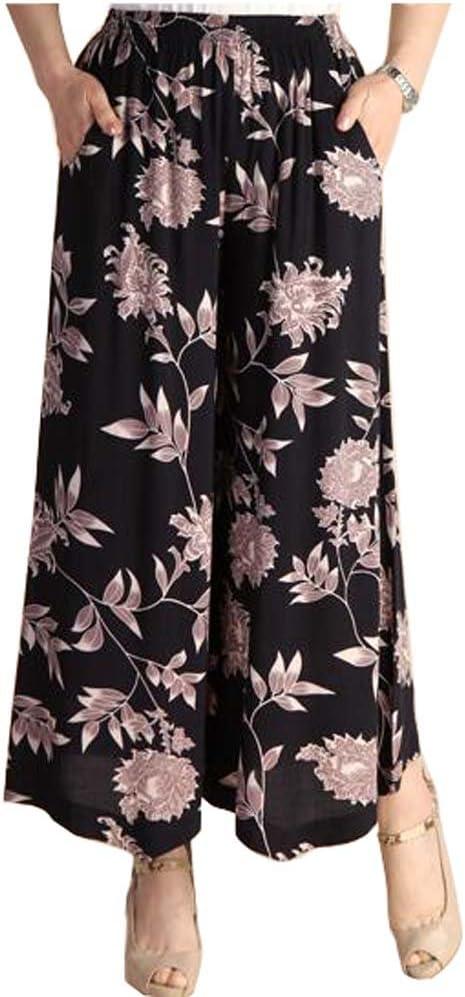 Pantalones Flojos Pantalon Suelto Pantalones De Baile Casual Para Las Mujeres Amazon Com Mx Deportes Y Aire Libre