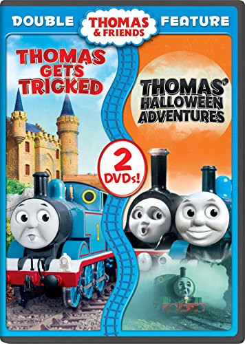 Thomas & Friends: Thomas Gets Tricked / Thomas' Halloween Adventures Double Feature]()