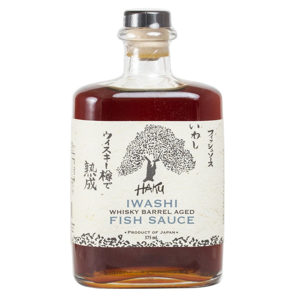 Haku Iwashi Whiskey Barrel Aged Fish Sauce (375 ml)