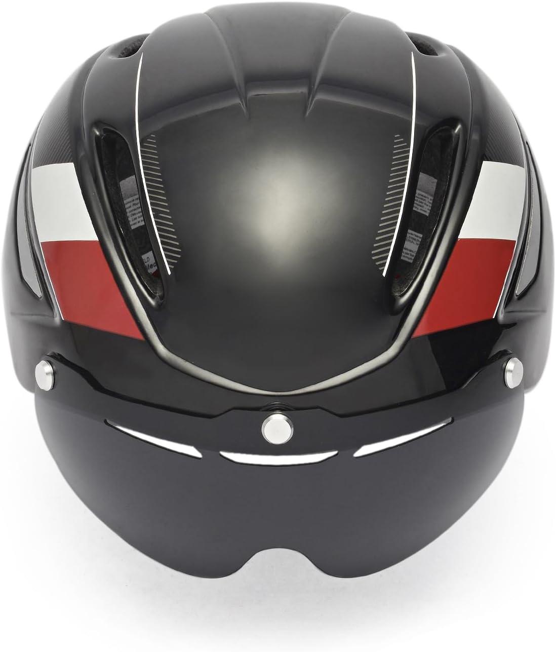 2pcs Anti-Impact Cycling Helmet Replacement Lens Bike Helmet Glasses Goggles Len