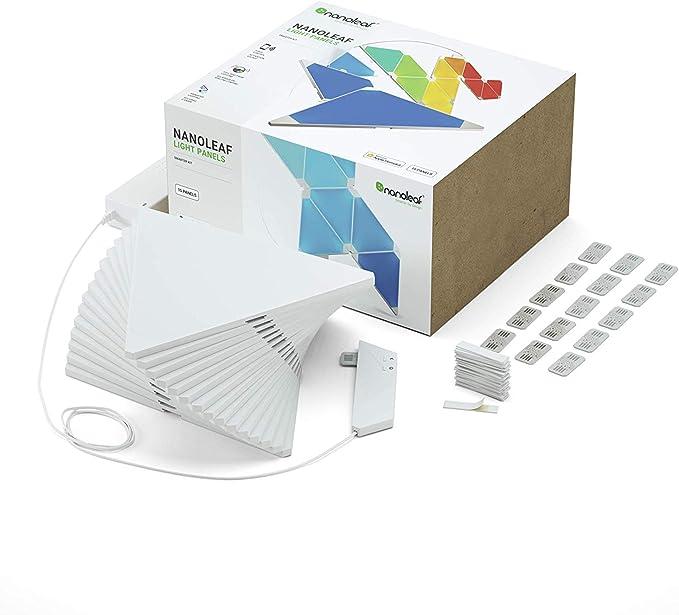 RGBW Multicolor 17-Pack Starter Kit Nanoleaf Canvas