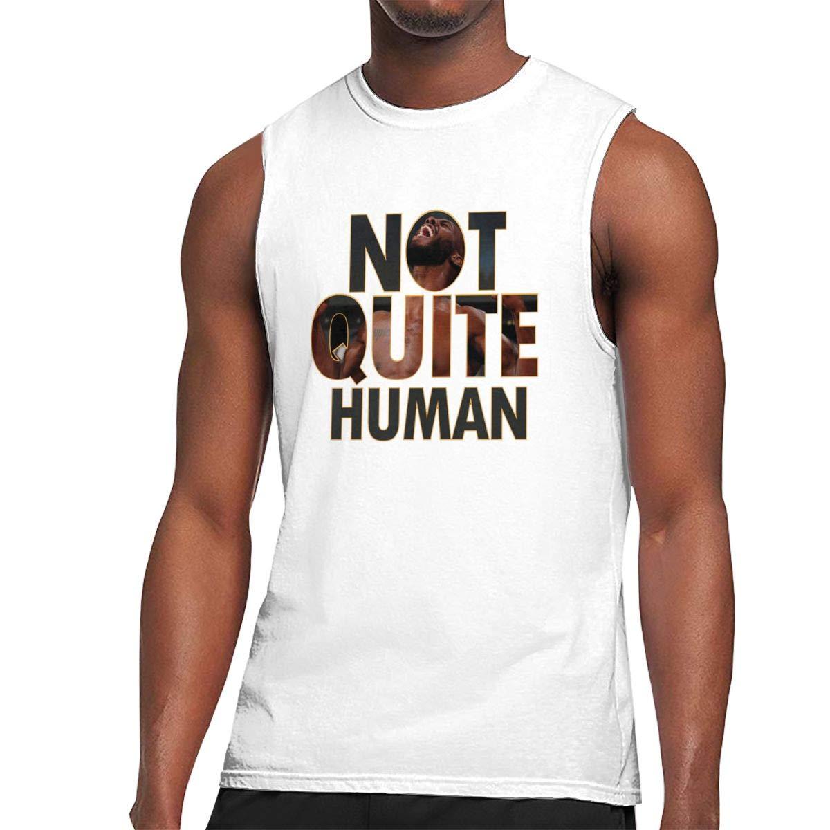 Nanakang Jon Jones Not Quite Human S Round Neck Summer Sport Tank Tops Sleeveless Shirts Ness