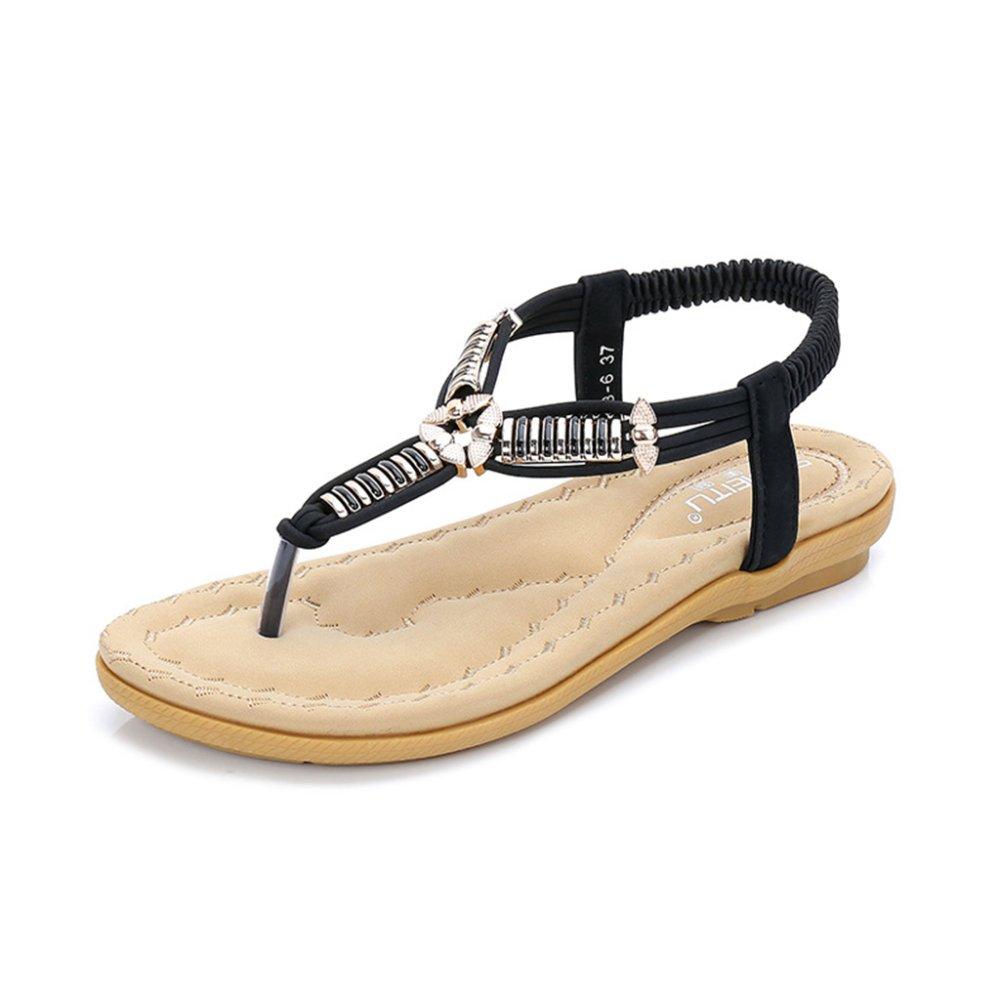 Aqua Lady Sandalen Prise Flachen Mund Sandalen und Hausschuhe Casual Flachen Boden