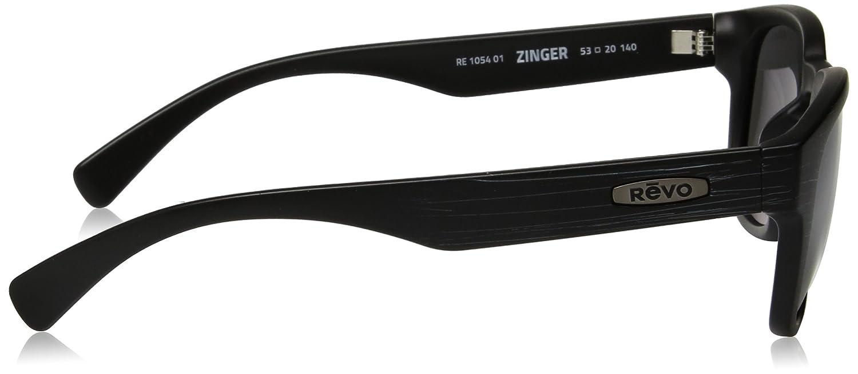 Revo Unisex Unisex RE 1055 Devin Butterfly Polarized UV Protection Sunglasses Revo Sunglasses RE 1054 01 BL