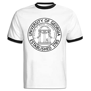 60b6e3a23ca Amazon.com: Men's University Of Georgia Established 1785 Baseball ...