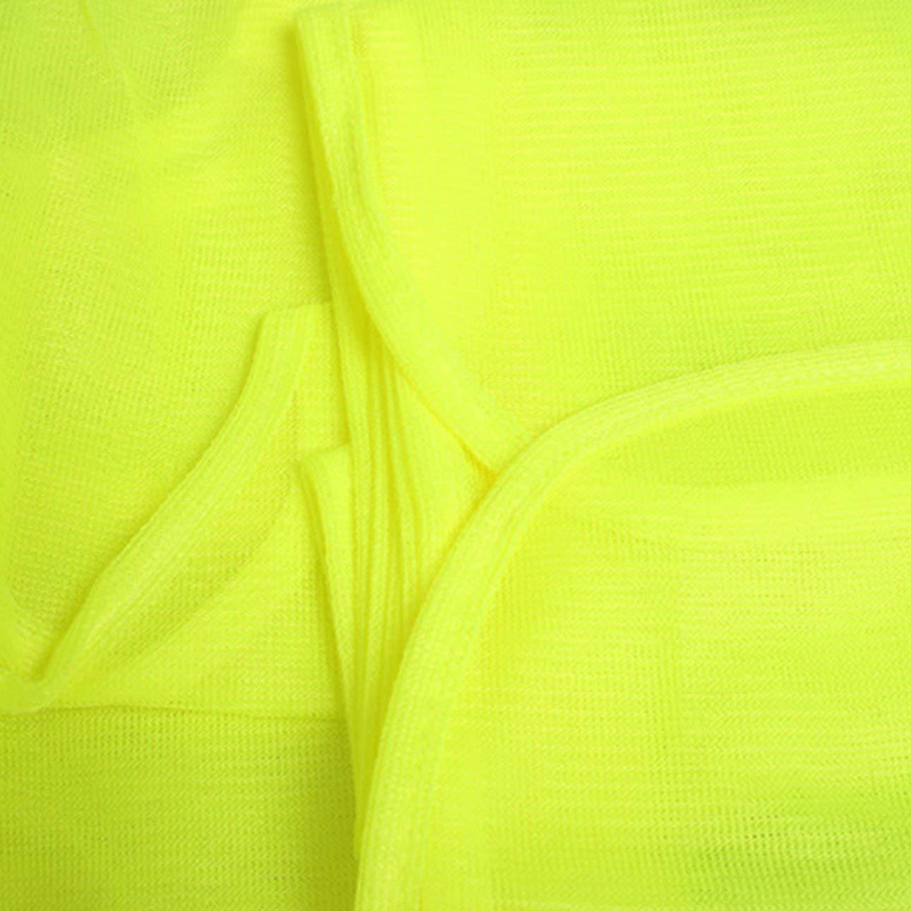 normes ANSI//ISEA boucle et crochet Celerhuak Gilet de s/écurit/é haute visibilit/é avec bandes r/éfl/échissantes