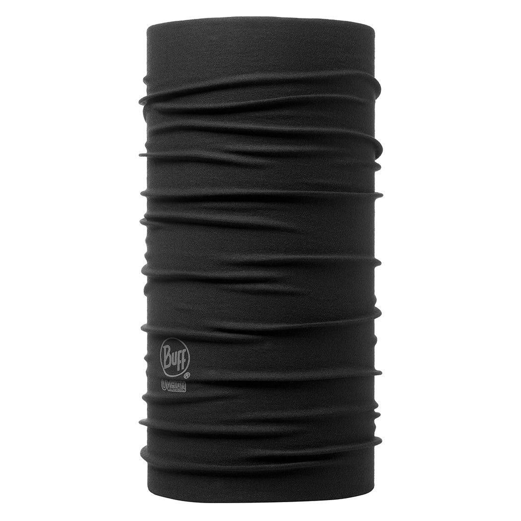 BUFF Unisex UV Multifunctional Headwear, Black, OSFM