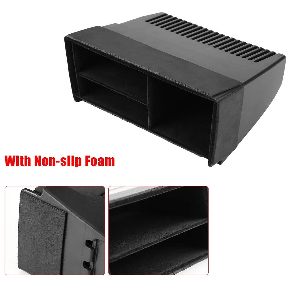 Negro con Espuma Antideslizante Fsskgx Consola Central del Coche Caja de Almacenamiento Organizador Bandeja de tel/éfono Accesorio Compatible para Land Rover Discovery Sport 2015-2018