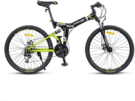 Montaña bicicleta plegable hombres y mujeres, de 24 pulgadas de velocidad variable de 24 velocidades bicicleta de montaña, Doble amortiguadora de golpes Estudiante MTB bicicleta de carreras, Montaña /: Amazon.es: Hogar