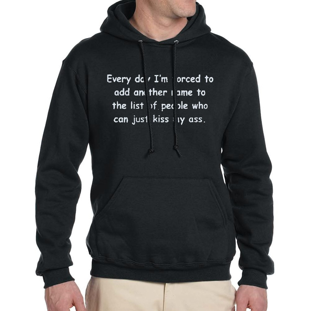 Adults EVERY DAY.. Black Hoodie
