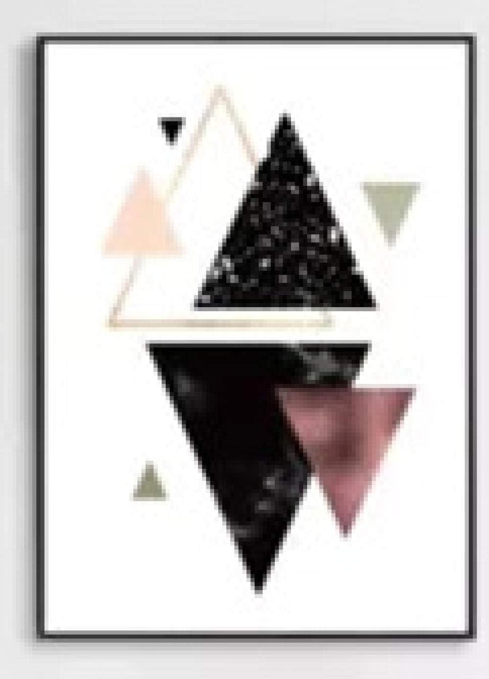 Guiwang 3 Pezzi di Arte su Tela Decorazione Astratta Pittura Immagini murali per Soggiorno Cucina Camera da Letto Cuadros Decoracion Salon Tela Artistica con cornice40x50cm