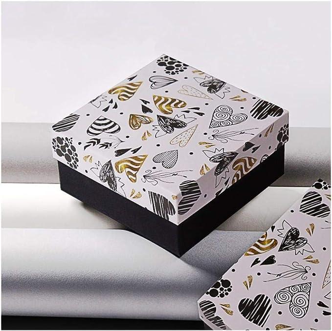 Caja de regalo de amor de graffiti, caja con caja de regalo grande de regalo de mano, caja de regalo de Navidad@Los 25.4 * 20.4 * 9.8cm_Bolsa de regalo: Amazon.es: Oficina y papelería