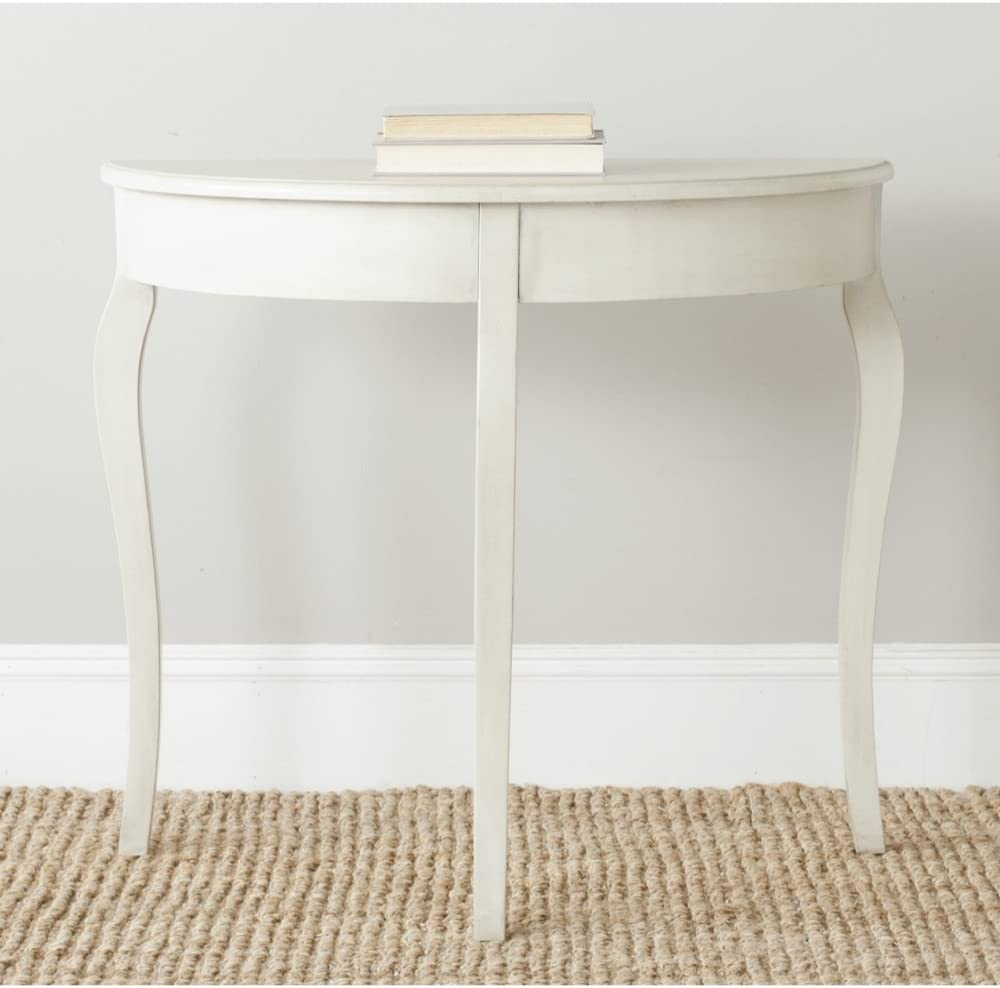 Safavieh American Homes Collection Sema Console Table, Antique White
