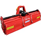 """Titan Distributors Inc. 72"""" Lightweight Rotary Tiller Category 1 & 2 3-Point Hitch for Garden and Land Tractors"""