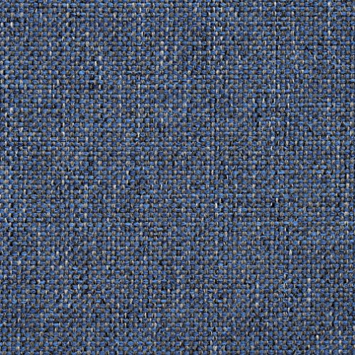 Wedgewood Blue and Beige Checkered Weave Tweed Upholstery Fabric by the yard