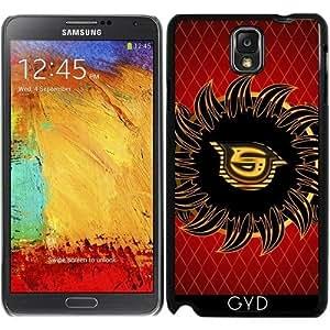 Funda para Samsung Galaxy Note 3 (GT-N9500) - Monograma Diseño S by nicky2342