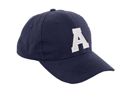 9b9af76313f4bd Morefaz New Boy Girl Adjustable Baseball Cap Nave Children School Caps Kids  Hat Sport Alphabet A-Z MFAZ Ltd
