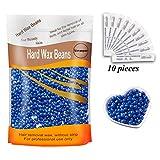 Yovanpur Hair Removal Hard Wax Beans Hard Body Wax Beans For Facial Arm Legs 300g/bag with 10pcs Wax Spatulas(Chamomile)