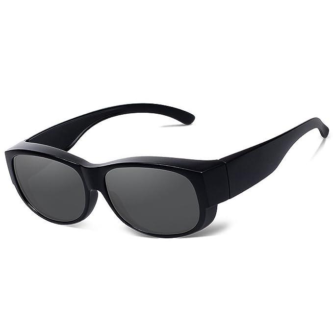Gafas de sol de la manera para las mujeres de los hombres desgaste polarizado de la