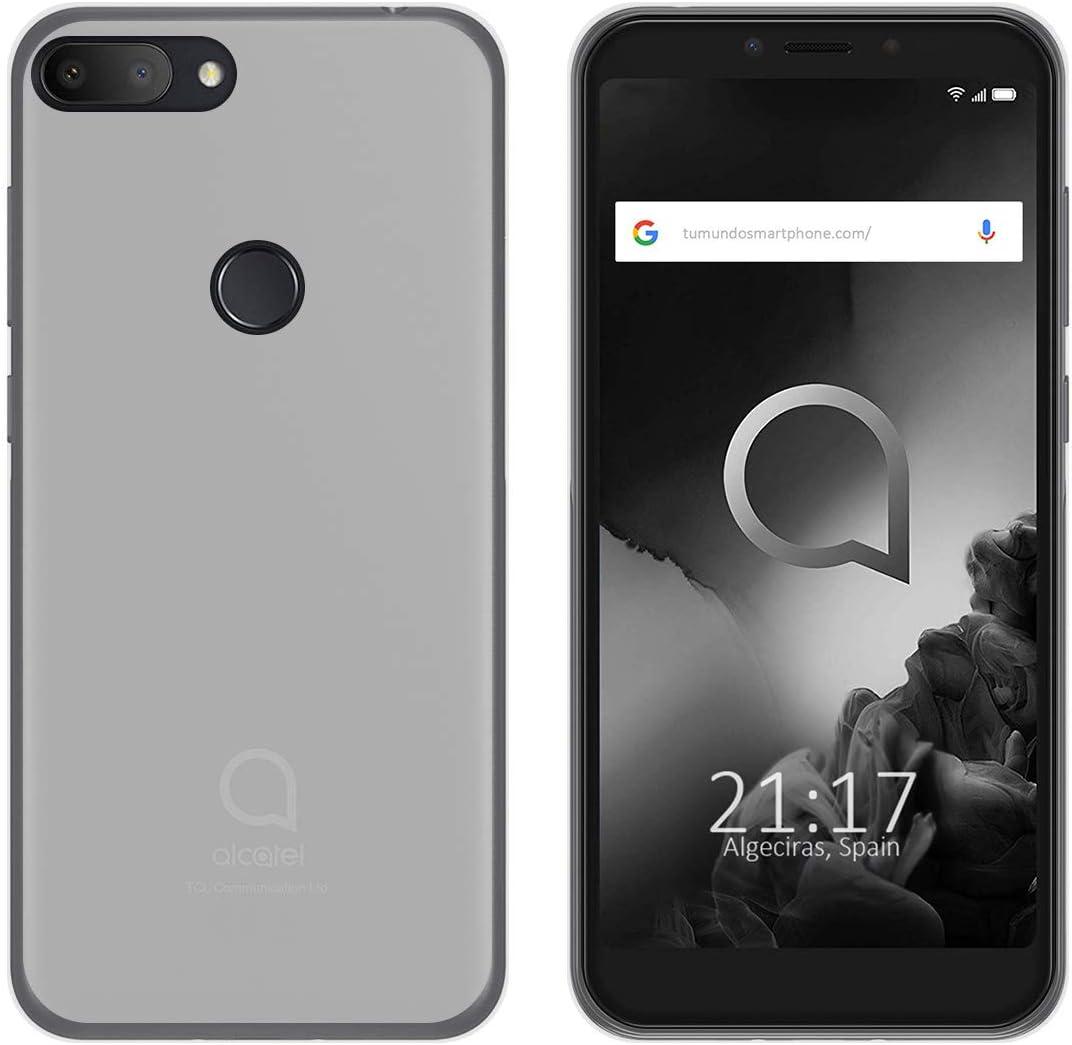 Tumundosmartphone Funda Gel TPU para Alcatel 1S (2019) Color Rosa ...