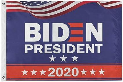 Ridin with Biden 2020 Election Joe Biden President Black House Flag Outdoor Flag