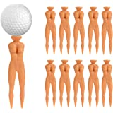 "Baitaihem Lady Golf Tees, 3"" Sexy Girl Golf Tees Nude Woman Plastic Golfer Tees Model Beauty Ball Nail Divot Home Golf Training, Pack of 30"