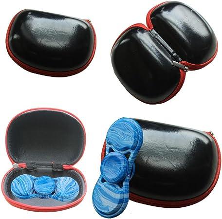 hunpta regalo para Fidget mano Spinner triángulo dedo juguete en caja de bolsa funda de transporte paquete: Amazon.es: Juguetes y juegos