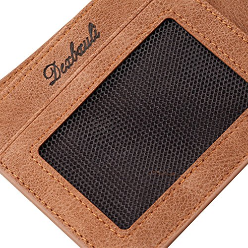 GzxtLTX Bifold Wallet PU Leather Credit Card Holder for Men by GzxtLTX Bags (Image #5)