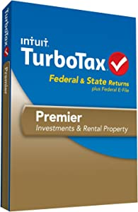 Intuit TurboTax Premier Federal E-File State 2013