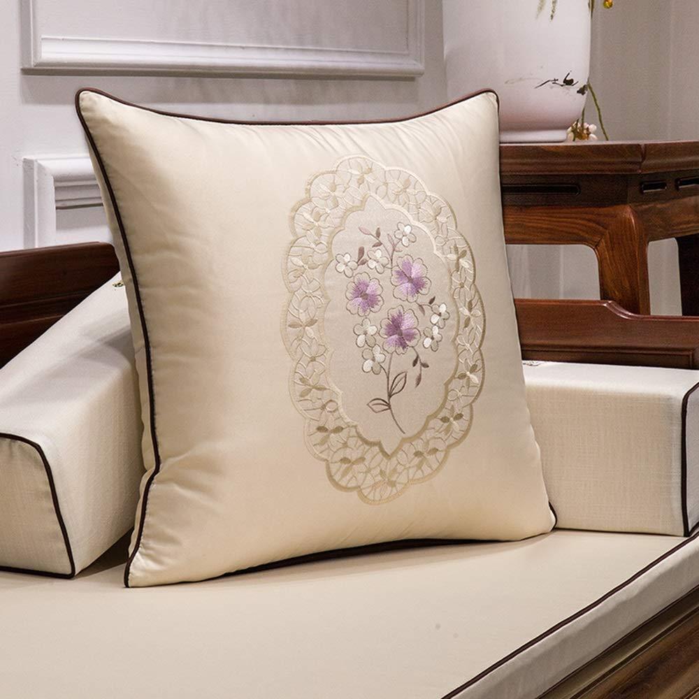 respuestas rápidas SCJS Almohada Decorativa del sofá Cuadrado Almohada de la Cama Cama Cama Conveniente para la Almohada Decorativa del Coche del Dormitorio del Dormitorio de la Cremallera del sofá de la Sala de Estar in 3350cm  tienda de pescado para la venta