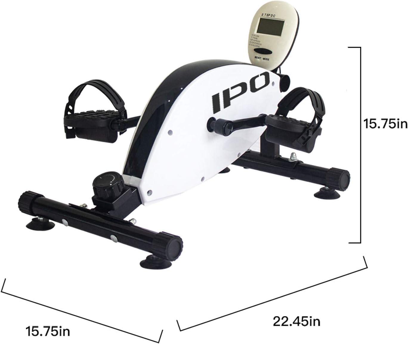 IPO 3 en 1 Bicicleta Estática Plegable Ejercicio Pedal Ejercitador ...