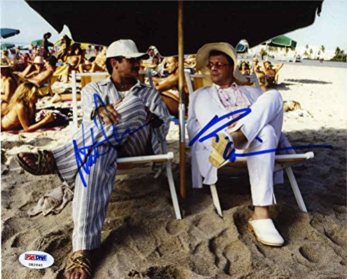 The Birdcage Robin Williams and Nathan Lane Signed 8x10 Photo Certified Authentic PSA/DNA COA (Robin Williams Autograph)