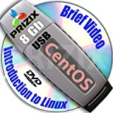 Software : CentOS 6 on 8gb USB Flash and Complete 3-disks DVD Installation and Reference Set, 32 and 64-bit