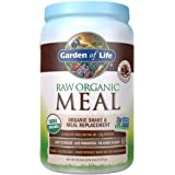 Garden of Life Meal Replacement - Organic Raw Plant Based Protein Powder, Chocolate, Vegan, Gluten-Free, 35.9oz (2lb 4oz/1,01