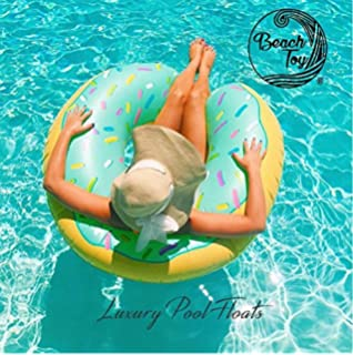 Beach Toy ® - Flotador hinchable para piscina DONUT