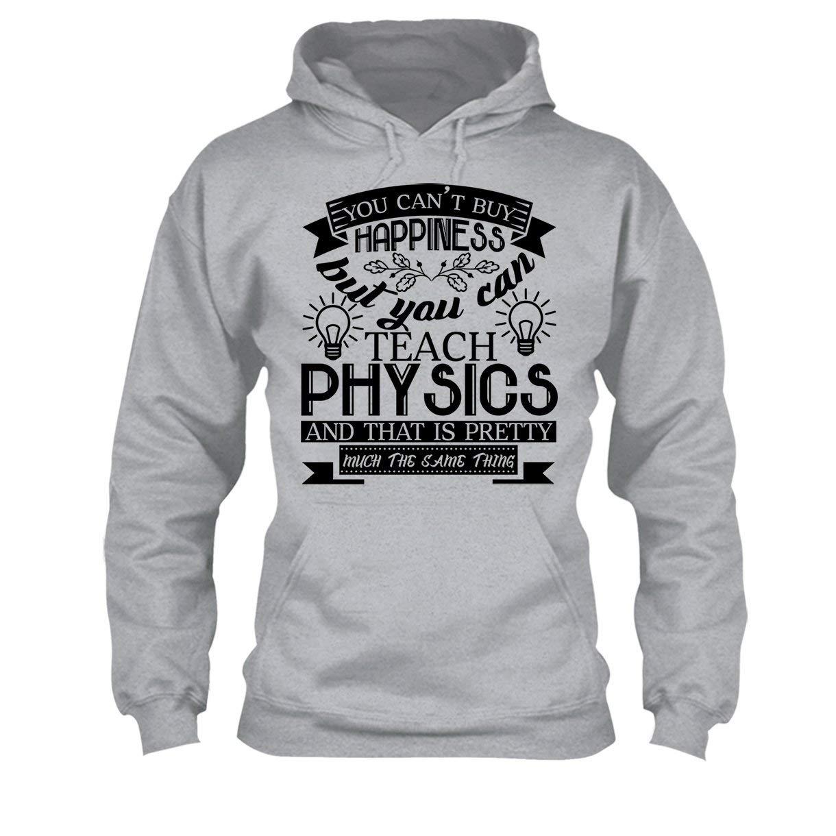 Big Grey Physics Teacher Happiness Tee Shirt Cool Long Sleeve Shirt