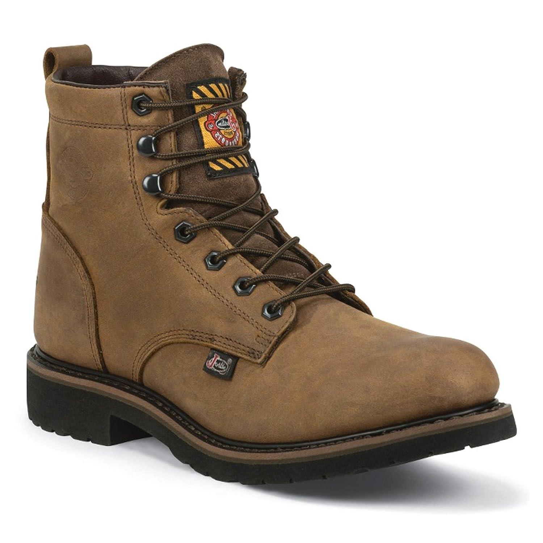 Justin オリジナル ワークブーツ メンズ Worker II WK968 ワーク ブーツ US サイズ: 10 EE Wide カラー: ベージュ B01C41LWMM