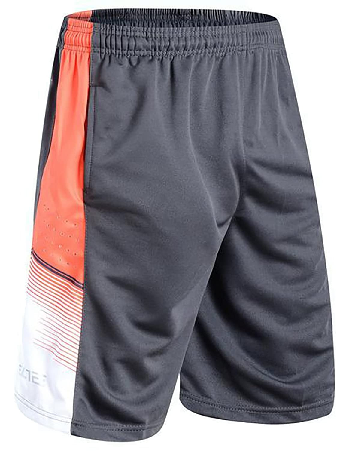 Mens basketball shorts on sale free shipping - Arrive Guide Mens Printed Loose Elastic Waist Quick Dry Basketball Shorts Free Shipping